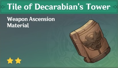 How To Get Tile of Decarabian's Tower In Genshin Impact