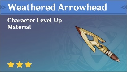 How To Get Weathered Arrowhead In Genshin Impact