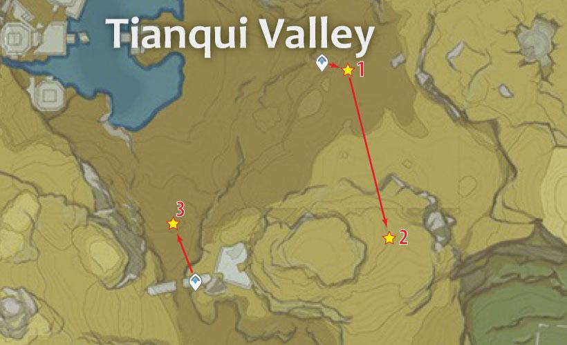 Geovishap Hatchling Locations In Genshin Impact