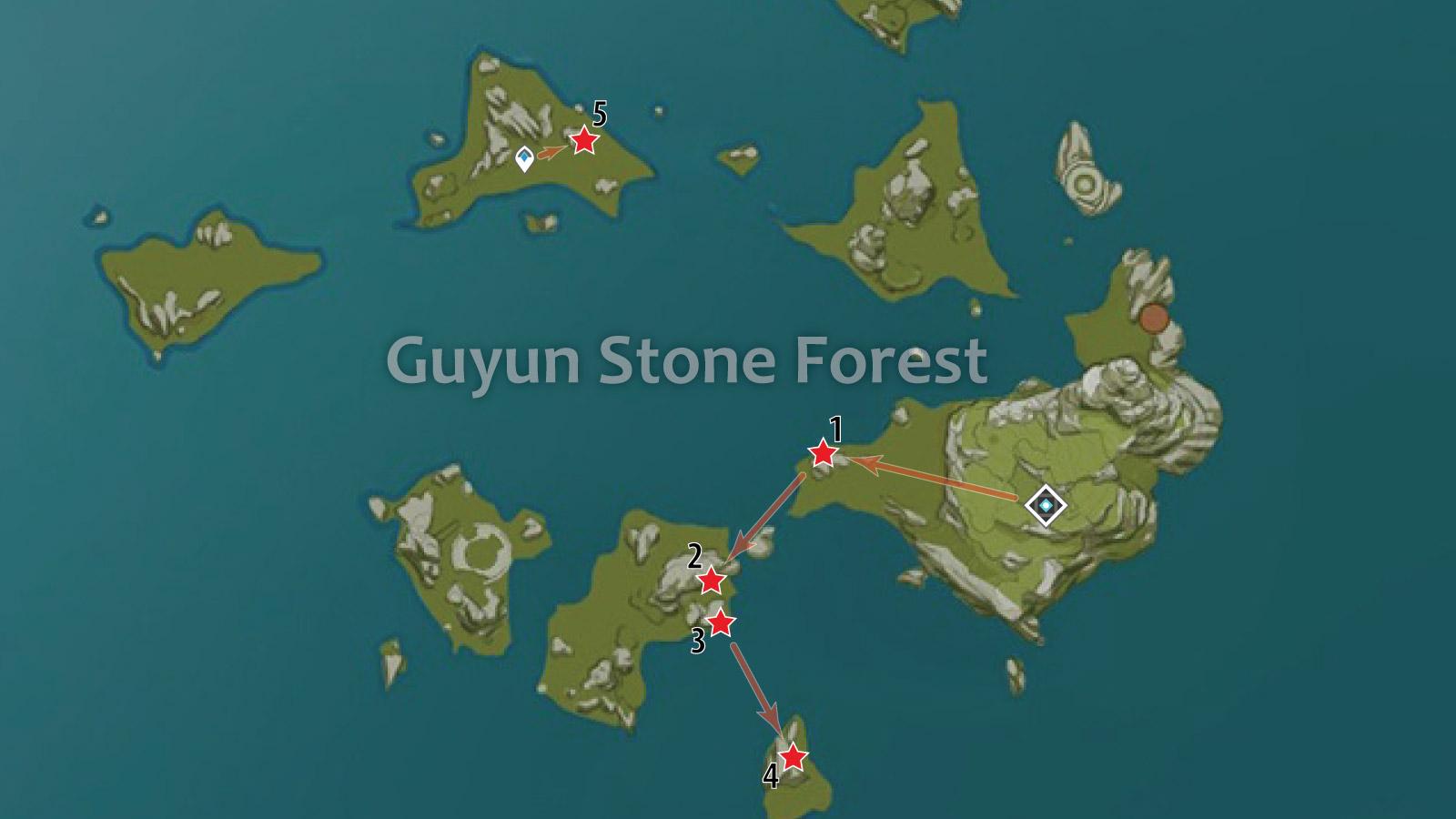 Fastest Crystal Chunk Farming In Genshin Impact