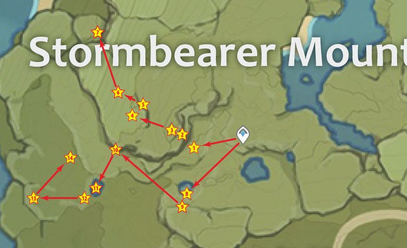 Stormbearer Mountains Chest Locations In Genshin Impact