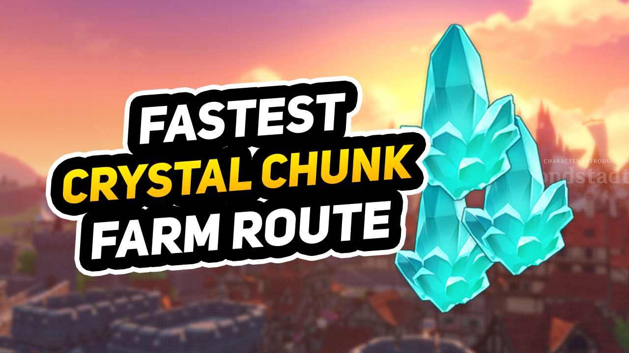 Crystal Chunk Farming & Location Guide In Genshin Impact