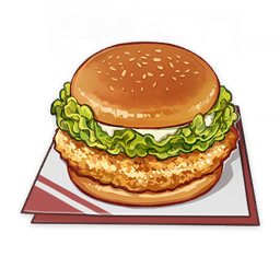 Golden Chicken Burger Recipe, Effects, & How To Get