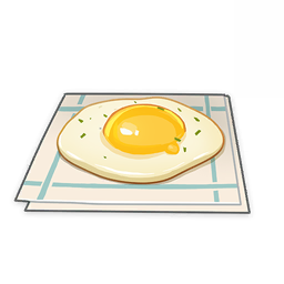 Teyvat Fried Egg Recipe, Effects, & How To Get