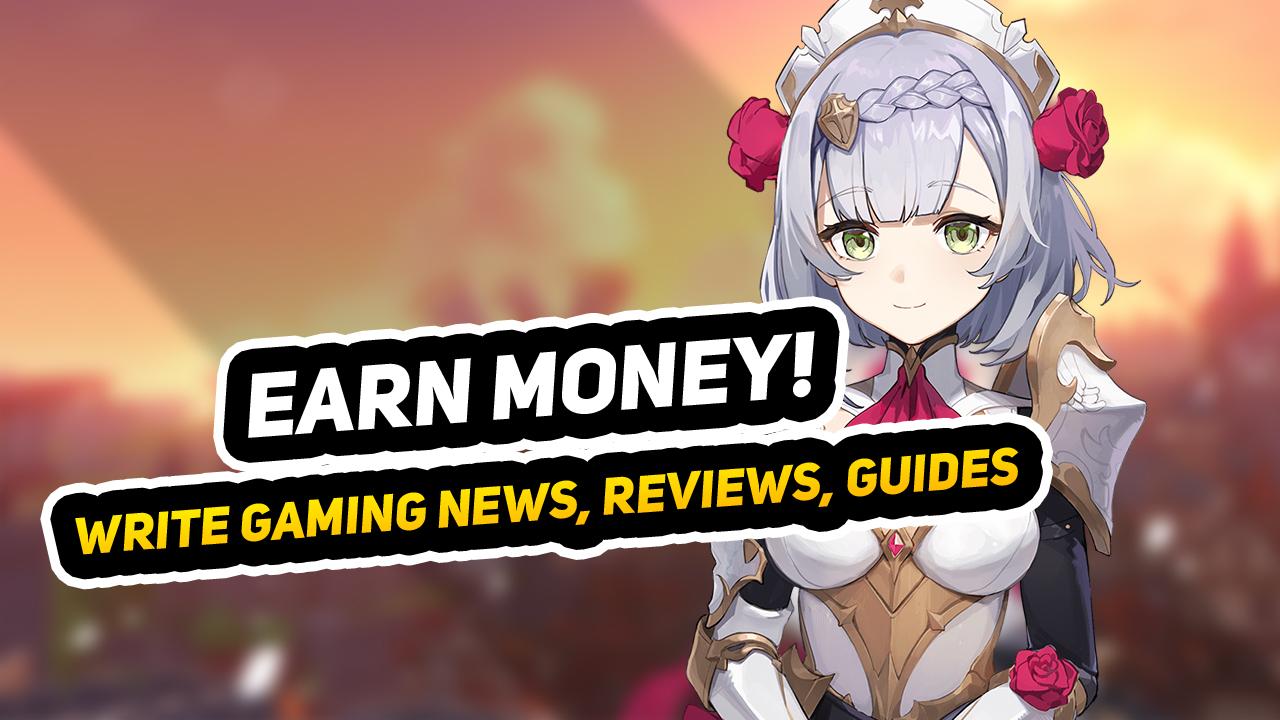 Earn Money Writing About Genshin Impact